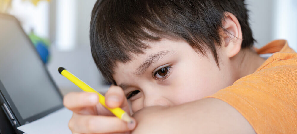 Kids may have trouble focusing during school