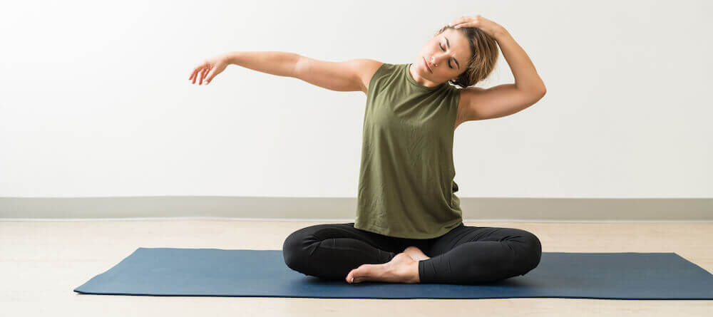 Stretching can relieve neck pain