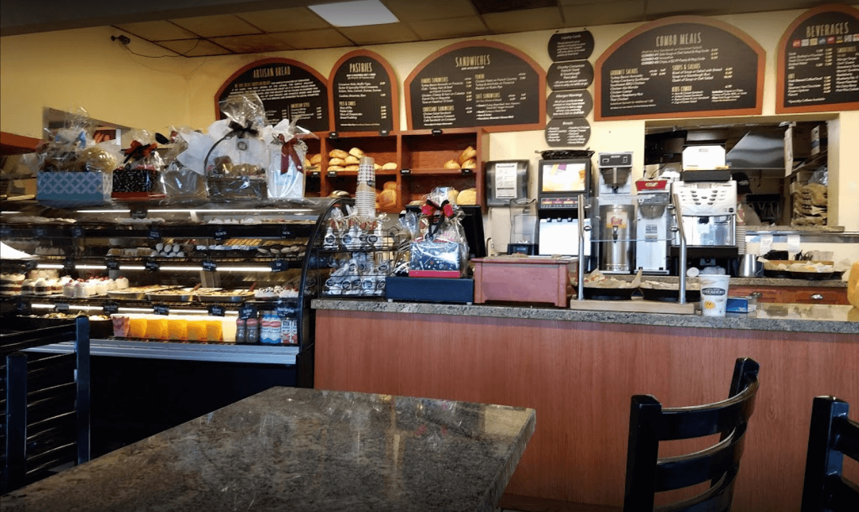 A photo inside of Kneaders Bakery in Utah