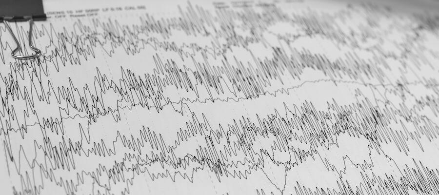 Neurofeedback waves using EEG
