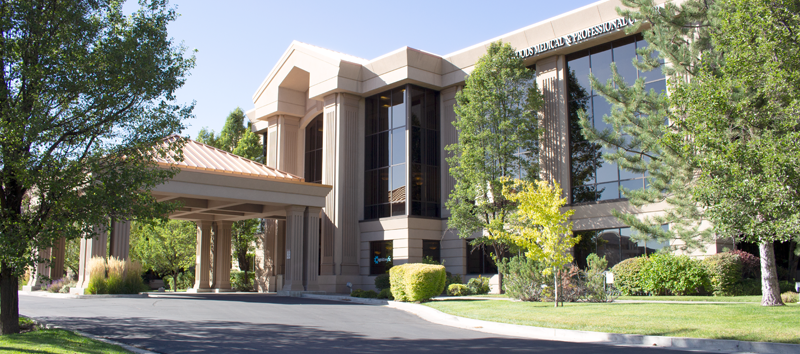 A photo of the front of the Cognitive FX Facility in Provo, Utah.