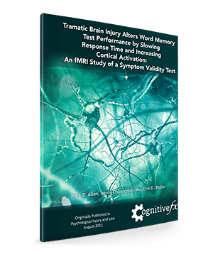 Traumatic Brain Injury Alters Word Memory
